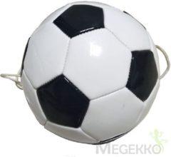SportX voetbalvaardigheidstrainer wit/zwart