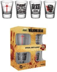 Zwarte GB Eye The Walking Dead Mix Shotglazen Set
