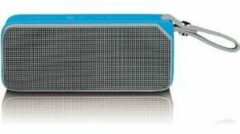 Lenco BT-191 - Bluetooth speaker spatwaterdicht met Led en NFC - Blauw