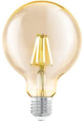 EGLO led-lamp vintage look E27 G95 amberkleurig 11522