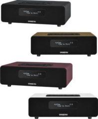 Sangean DDR 36 BT DAB+/FM RDS Radio mit Bluetooth Unterstützung Farbe: braun