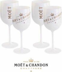 Witte Moet & Chandon Moët & Chandon Ice Imperial Chamagneglazen - 400 ml - 4 stuks