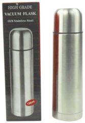 Zilveren ARO houseware Isoleerkan Bullet RVS 750ml