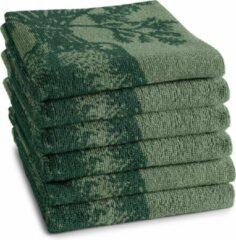 Donkergroene DDDDD Keukendoek groens 50x55cm - groen - set van 6