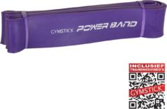 Paarse Gymstick Power Band Sterk - Flexibele Weerstandsbanden - Resistance Band