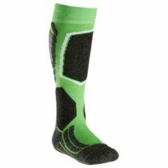 Falke - Kid´s SK 2 - Skisokken maat 35-38 groen/zwart/olijfgroen