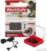 Witte Alpine Hearing protection Alpine - Work Safe - Werk - Gehoorbescherming - Oordoppen - 1 paar