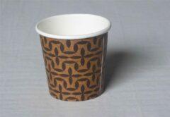 Bruine Amerigo Espresso beker - karton - 85 stuks