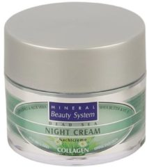 MINERAL Beauty System MBS Nachtcreme Collagen 50ml