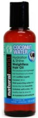 Natural World Coconut Water Hydration Shine Weightless Hair Oil 100 ml