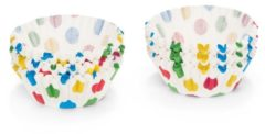 """Patisse cup-cakes op kaart AND apos;gekleurde stippen AND apos; 200st."""
