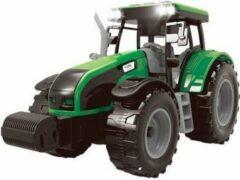 Jollity Works JollyVrooom - Tractor met Licht en Geluid - Groen - Boerderij