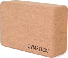 Bruine Gymstick Active Yoga Block Kurk - Met Online Trainingsvideo's