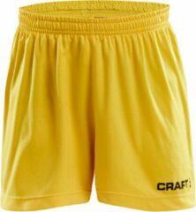 Craft Squad Sportbroek - Maat 158 - Unisex - geel/zwart