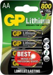 GP batterijen GP Batteries Excellent FR6 AA batterij (penlite) Lithium 1.5 V 4 stuk(s)