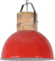 Collectione Hanglamp Fabriano Industrieel 50 cm 1 Lichts Glans Rood