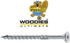 Woodies Ultimate scharnierschroef 4.5x 40 platverzonken kop T-20 verzinkt - 61545374