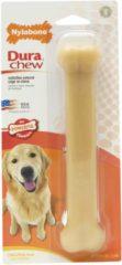Creme witte Nylabone Harde Bijters Kluif - Ham - Voor Honden tot 20 kg