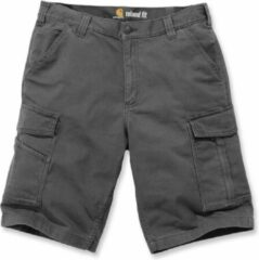Donkergrijze Carhartt Rigby Rugged Cargo Short-Shadow-33