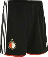 Adidas Feyenoord Thuisshort 2020-2021 Unisex - Zwart - Maat 152