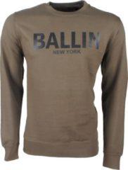 Ballin New York Ballin - Heren Trui - Sweat - Kaki