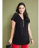 Shirt MIAMODA Zwart