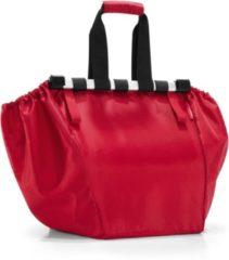 Rode Reisenthel Easyshoppingbag - Boodschappentas voor winkelwagen - Opvouwbaar - Polyester - 30L - Rood