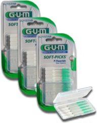 GUM Soft Picks Regular - 3 x 40 stuks - Ragers - Voordeelverpakking