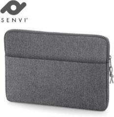 """Senvi - Casual Line - Laptop Cover 15"""" - Kleur Grijs"""