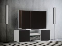 """VCM TV Schrank Lowboard Tisch Board Fernseh Sideboard Wandschrank 95/115/140 cm Wohnwand """"Jusa"""""""