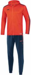 Oranje Jako Trainingspak polyester met kap striker 2.0 m9419-18