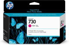 HP 730 130-ml Magenta DesignJet 130ml Magenta inktcartridge