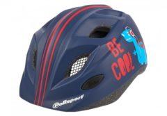 Blauwe Polisport - BE COOL -Kinder fietshelm + Bidon - 300ml - 52-56cm - Blauw