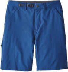 Blauwe Patagonia - Men's Stonycroft Shorts 10 inch - Maat 36