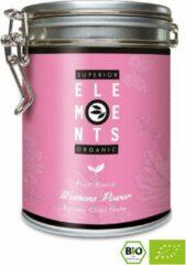 Alveus Elements Women's Power losse thee in bewaarblik   100 gram