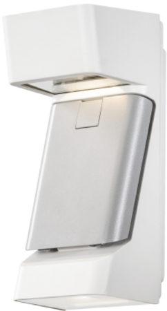 Afbeelding van Konstsmide Buitenlamp 'Ravenna' Wandlamp, PowerLED 3 x 4W / 230V, kleur Wit