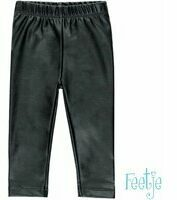 Feetje! Meisjes Legging - Maat 68 - Zwart - Polyester/elasthan