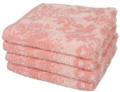 Rosa SEASTAR Premium Handtuch 4er-Set rosé