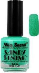 Mia Secret Sandy Finish Nagellak Groen