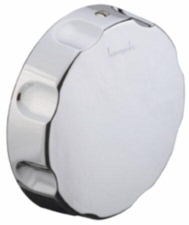 Afbeelding van Hansgrohe Flexaplus knop/danser badafvoer chroom 96083000