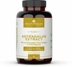 MCS Formulas Astragalus Extract, 450mg/Capsule, Vegetarian Capsules, NO ADDITIVES