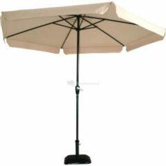 Lesliliving Outdoor Living Gemini Parasol - stokparasol - Ø300 cm - ecru