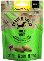 Gimdog Train & Treat 125 g - Hondensnacks - Wild&Salie