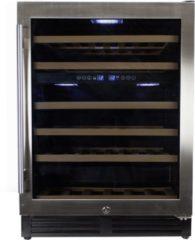 OEM Wijnklimaatkast Premium met RVS glazen deur - 51 Flessen