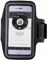 Sport Armband XL zwart Sportband Hardlopen Universeel voor Smartphone / Telefoon / Apple iPhone / Samsung / Huawei