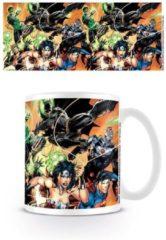 Witte DC Comics JUSTICE LEAGUE - Mug - 300 ml - Charge