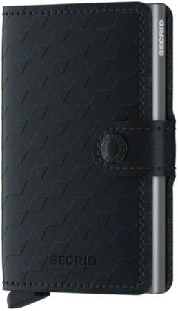 Afbeelding van Zwarte Secrid Miniwallet pasjeshouder optical black titanium