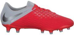 Fußballschuhe Hypervenom Phantom III Academy FG mit asymmetrischem Schnürsystem AJ4120-107 Nike Lt Crimson/Mtlc Dk Grey-Wlf Gry
