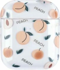 "Greenz products AirPods Case ""Fruit Peach"" - Airpods hoesje - Airpods case - Beschermhoes voor AirPods 1/2"