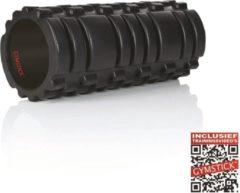 Zwarte Gymstick Trigger Roller - Foam Roller - 33 cm - Met Online Trainingsvideo's
